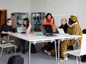 WikiPermanence à la bibliothèque des Champs Libres, Rennes, 20
